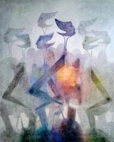 00074 Óleo s. tela 100 x 81 cm. US$ 1500